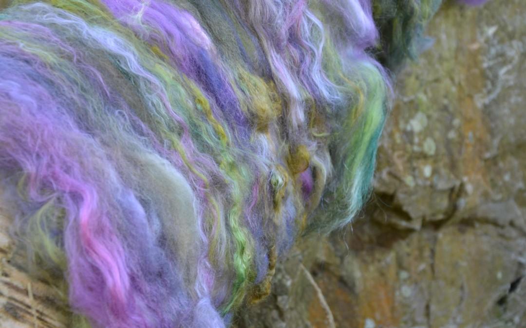 Mélanges de fibres à l'atelier