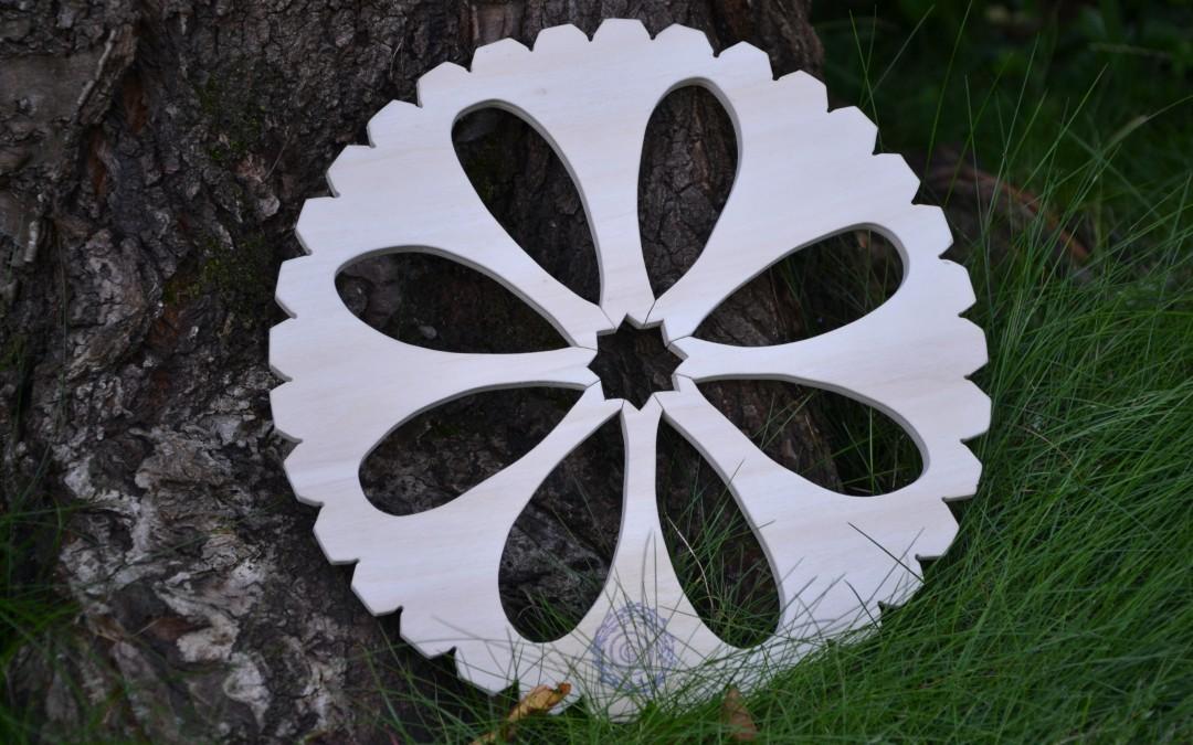 Métiers à tisser circulaires de l'Atelier des Bruyères